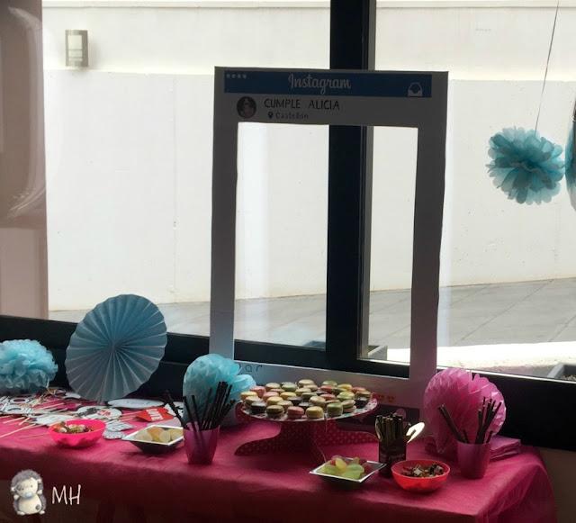 Mesa de chuches para fiestas