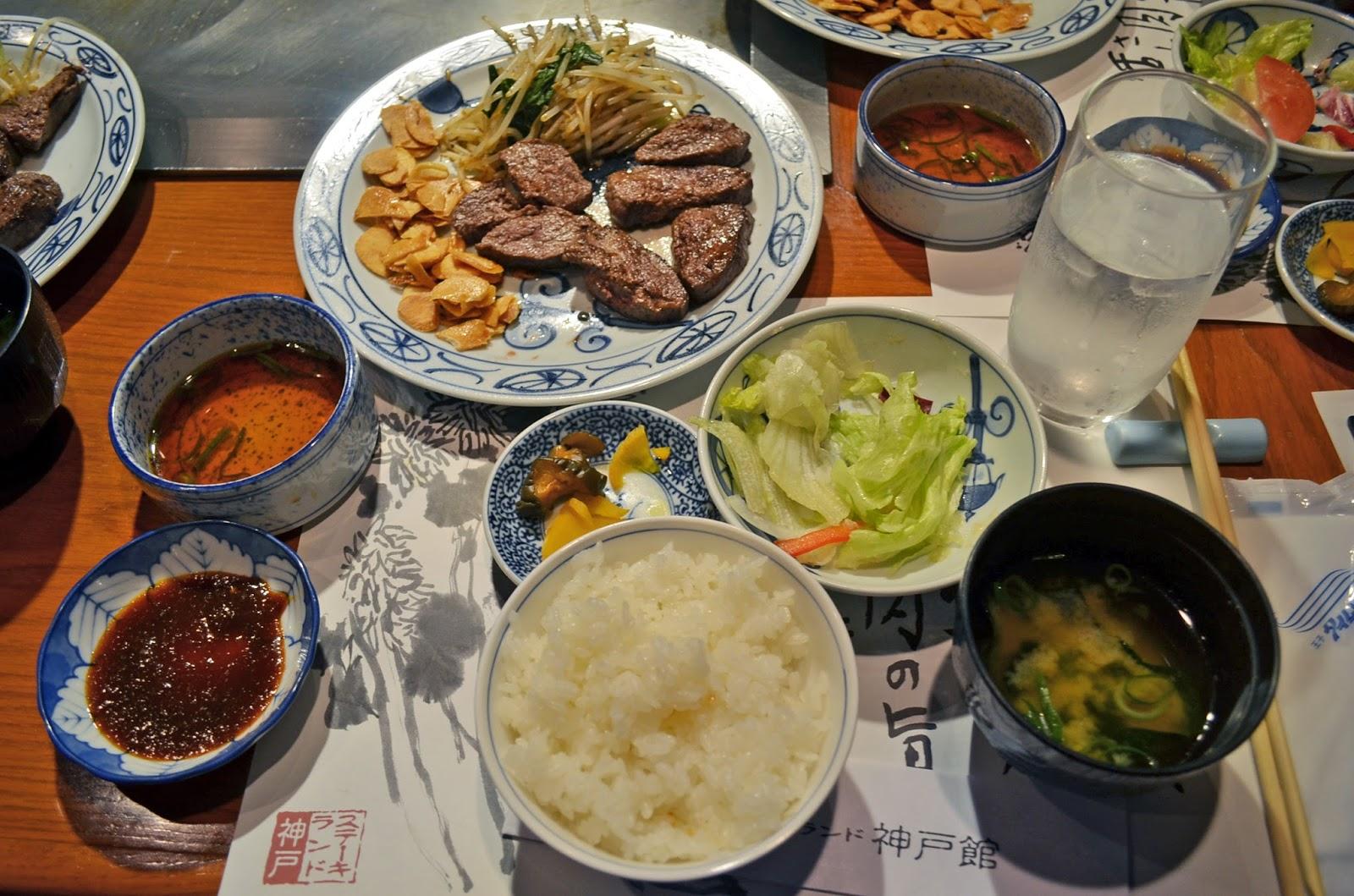 d3fbb4eea1ee Japan 2016  Kobe  Kobe Beef Lunch   Steak Land Kobe