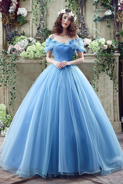 Princess Off-the-Shoulder Sequins Tulle Ball Gown Wedding Dress 2019 On Sale