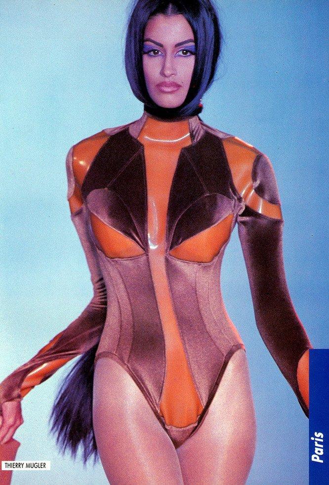 Wallpaper Muslim Girl Supermodel Yasmeen Ghauri Nude