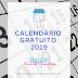 Calendário Projeto Escrita Criativa 2019