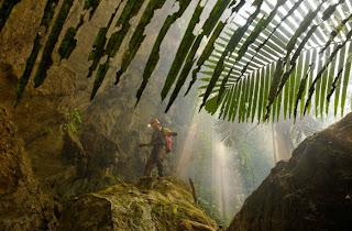 Vietnamese Cavern Mammoth. Cavern Vietnam
