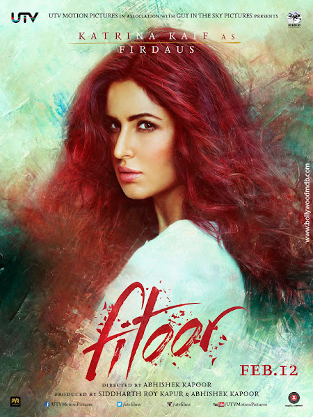 Poster Of Fitoor 2016 Hindi DVDScr Full Movie Download