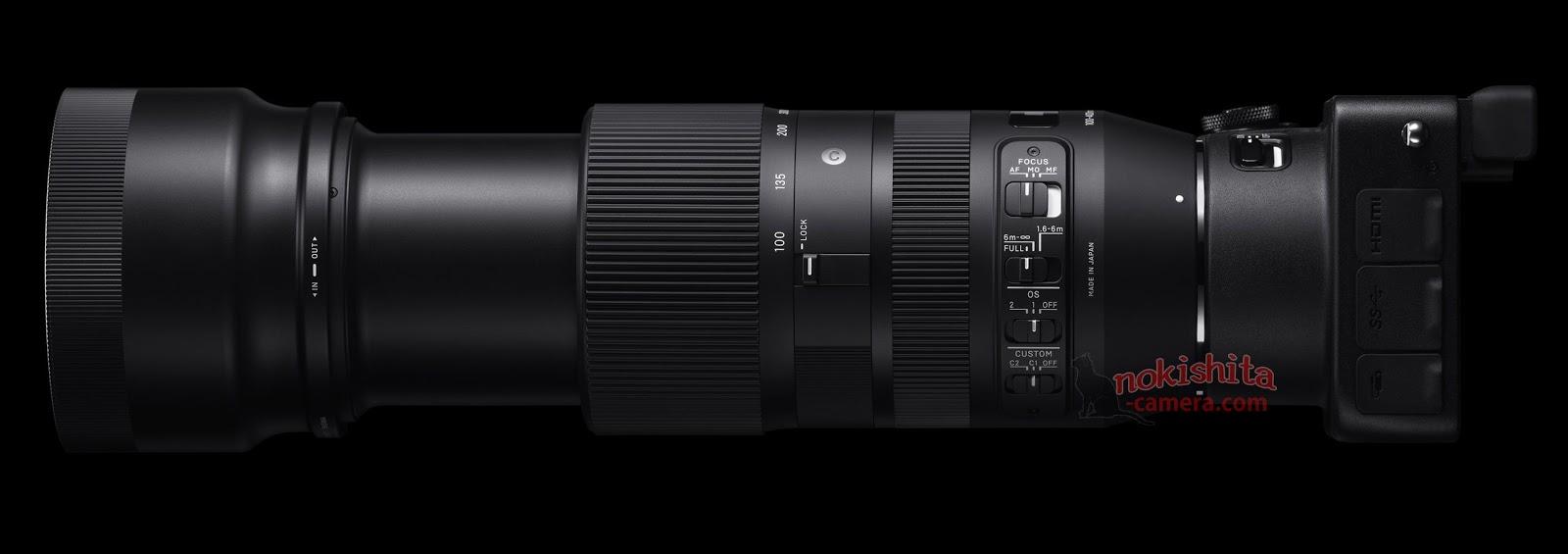Изображения новых объективов Sigma 14mm, 135mm, 100-400mm и 24-70mm