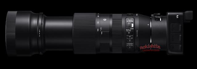 Sigma 100-400mm f/5.6-6.3 DG OS HSM с камерой SG Quattro H