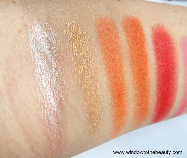 Blush Tribe The Malika Palette swatch