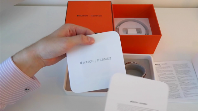 Apple Watch Hermes unboxing (Video)