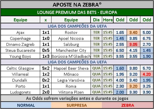 LOTOGOL 819 - GRADE BETS EUROPA 03