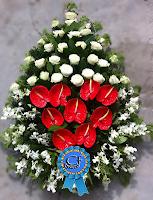 Coroana funerara de lux