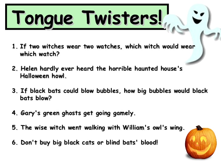 Miclasedelclaret Tongue Twisters