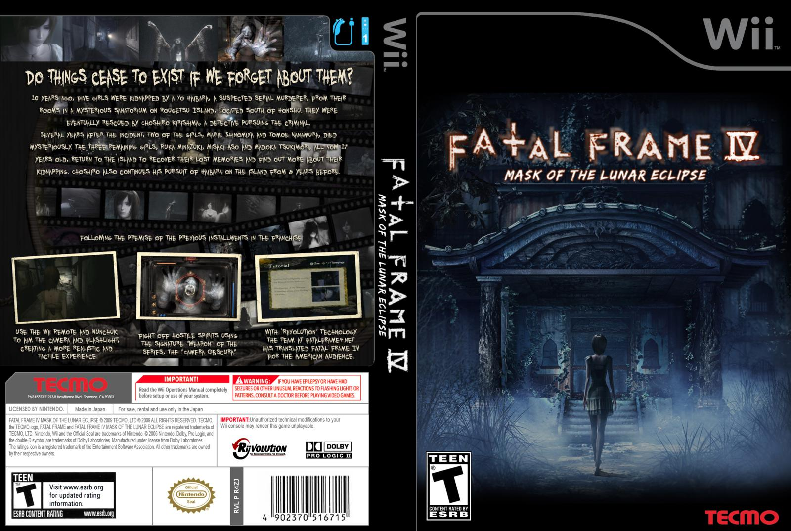 Fatal Frame 4 Pc Download