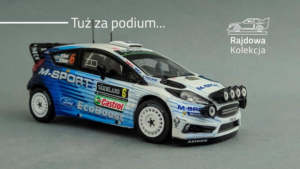 IXO / The Diecast Club Ford Fiesta RS WRC, Rally Swden 2015