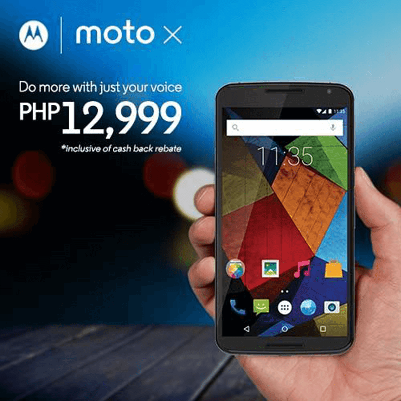 Motorola Moto X Second Gen Philippines sale