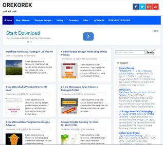 blogspot responsive template
