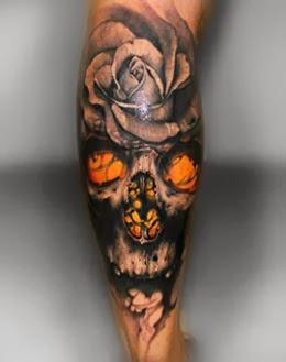 Imagens De Tatuagens Masculinas Nas Pernas