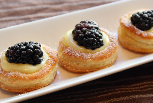 Lemon Berry Tartlets – Puff and Stuff
