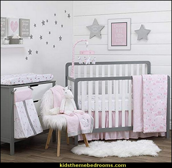 Maries Manor Baby Bedrooms: Maries Manor: Unicorn Bedding