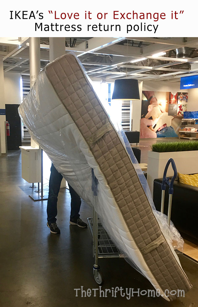 Ikea Was Great About Taking Back The Mattress And Giving Us Credit Maybe Ing Returning Mattresses Is What Hurt My Husband S Lol