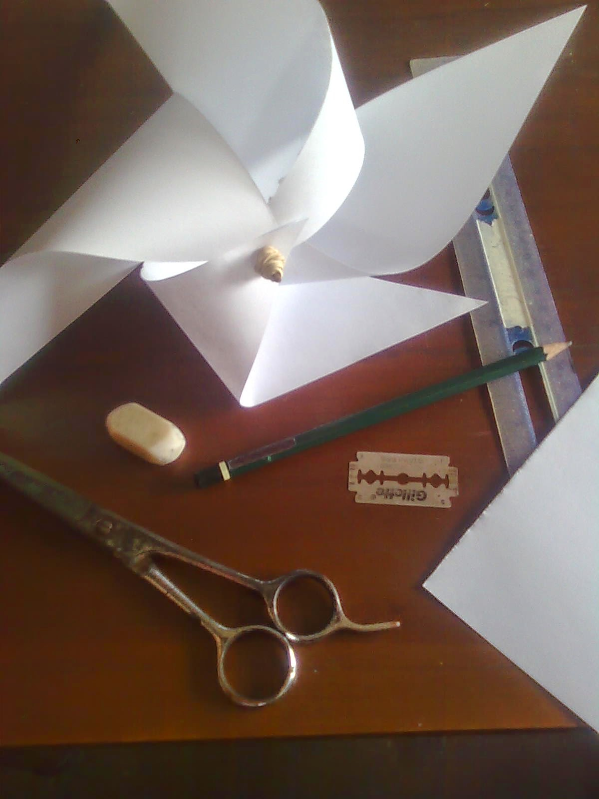 Cara Membuat Kincir Angin Dari Sedotan : membuat, kincir, angin, sedotan, BUKAN, HERBIVORA:, Membuat, Kincir, Angin, Kitiran, Sederhana, Kertas