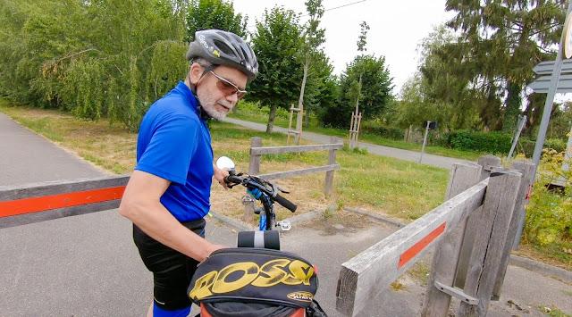 En vélo de Paris à la Normandie, piste cyclable de l'Eure