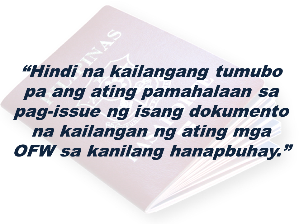 """Senator Grace Poe  pushed for a freeze on possible increase of fees for passports application and renewal to avoid burdening Filipino's especially the Overseas Filipino Workers (OFWs) with unnecessary expenses.  Poe earlier batted foran """"anti-passport price increase"""" in the proposed 2018 budget of the Department of Foreign Affairs (DFA) seeking to freeze the fee for the travel document even if its validity has been extended to 10 years pursuant to a new law.   The DFA charges P950 for regular processing or passports delivery to applicants within 15 working days and P1,200 for express processing, where delivery will be after seven working days. Poe said that there is no reason to increase the price for the passport if the pages will remain to current 44 pages with 39 pages  stampable. and besides, not all Filipinos are frequent travellers.  Sponsored Links  She said she will introduce an amendment to the proposed P19.56-billion DFA budget for 2018 when the Senate tackles the agency's budget.  President Duterte signed into law last August 2, 2017 Republic Act 10928 which extends the validity of Philippine passports from 5 to 10 years, not including those of minors which would only have a 5-year validity.  The senator said if the DFA will issue a passport that will have more pages, then the best recourse is to maintain the current price, """"or call for extensive hearings, especially among OFWs, if they plan to charge more.""""  About three million Filipinos apply for new or renewal of passports every year.   Source: newsmb.com.ph   Advertisement Read More:       ©2017 THOUGHTSKOTO"""