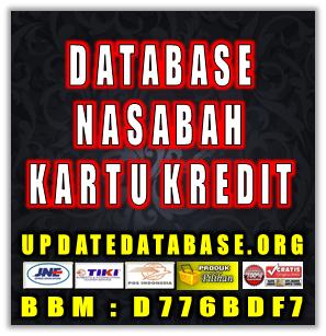 Jual Database Nasabah Prioritas Pemilik Kartu Kredit