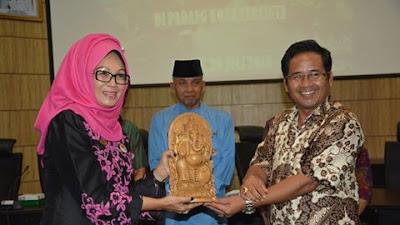 Pemkab Gianyar Bali Berkunjung Ke Pemko Padang