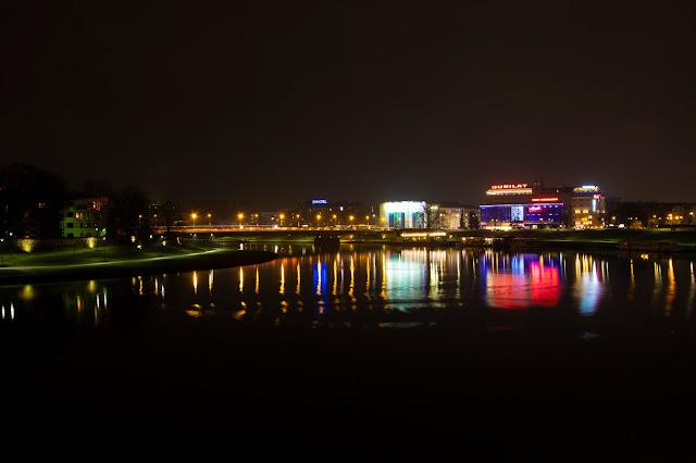 Vista dal Drago del Castello-Cracovia