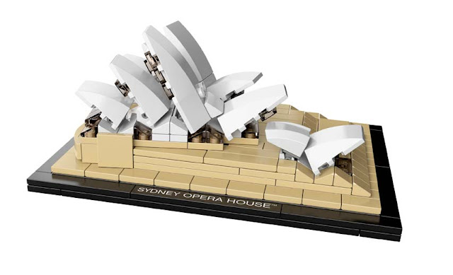 Green Pear Diaries - Lego architecture Sidney Opera