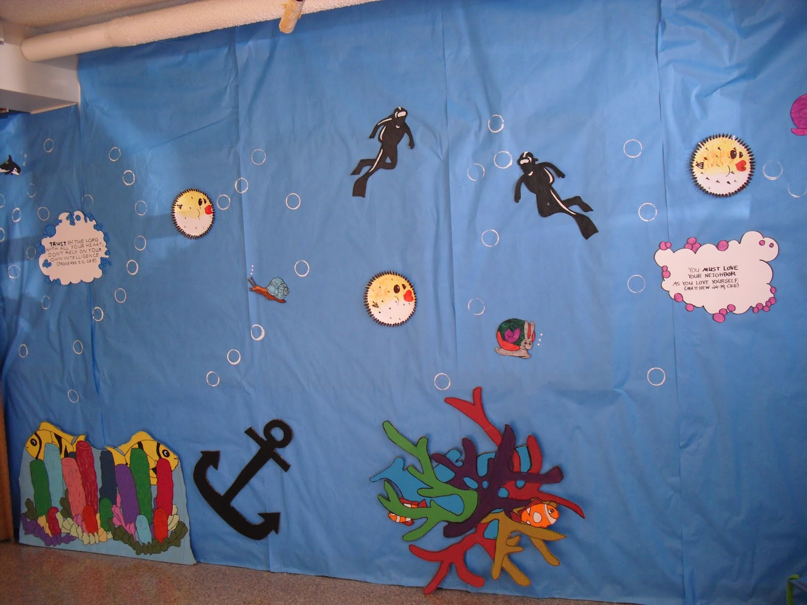 Vacation bible school crafts ideas - Vbs Ideas For Underwater Theme