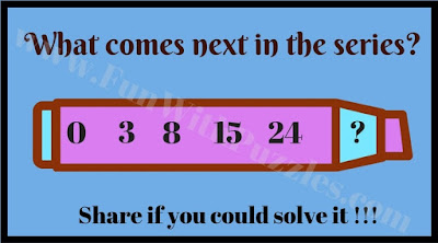 Easy Number Series Picture Puzzle