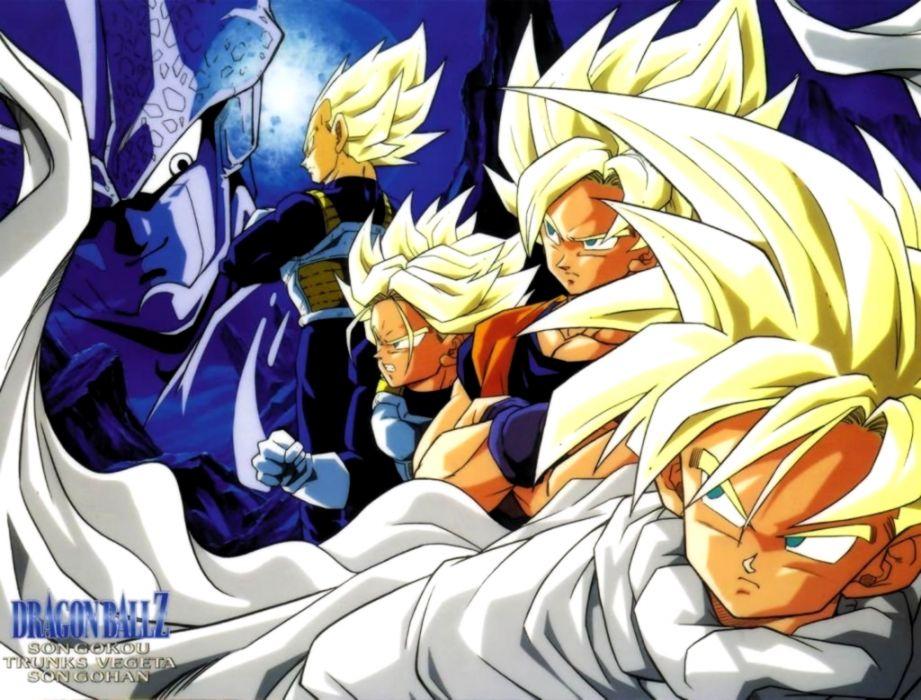 Dragon Ball Z Saga Cell Wallpaper Look Wallpapers