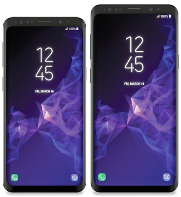 Samsung Galaxy S9 and S9+ Press Images , Specs Leaked