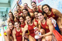 WATERPOLO - La selección española femenina acudirá a Río 2016