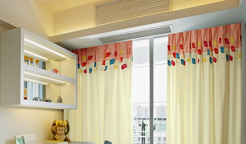 Design your kid's room with beautiful and kid-friendly curtains!