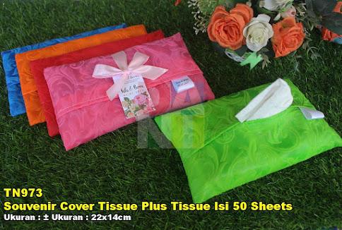 Souvenir Cover Tissue Plus Tissue Isi 50 Sheets