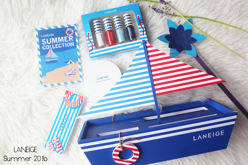 LANEIGE Summer 2016 Collection