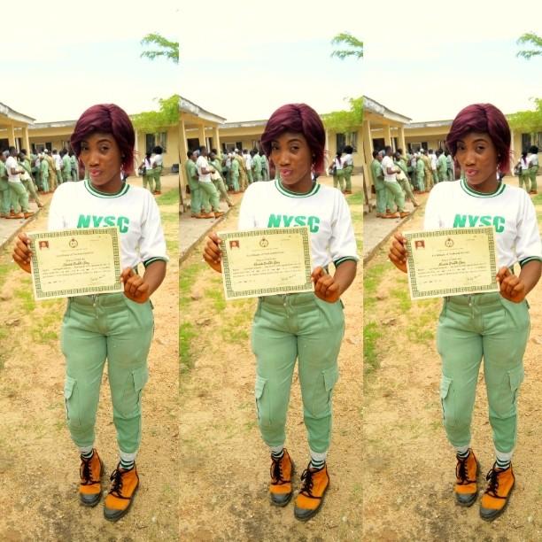 Nysc Corper 'last year batch' Certificate