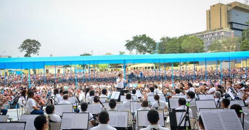 Orquesta Sinfónica ofrecerá mañana domingo concierto en Campo de Marte