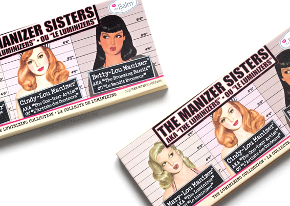 TheBalm The Manizer Sisters Palette Review Photos