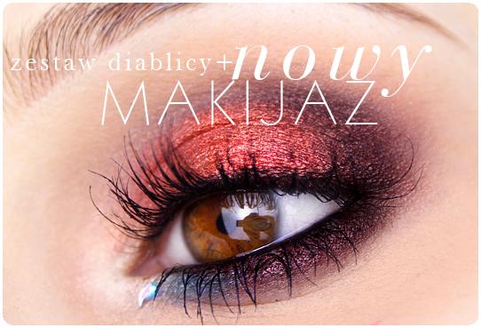Alina Rose Blog Kosmetyczny Makijaż Dla Oczu Piwnych Bordo Granat