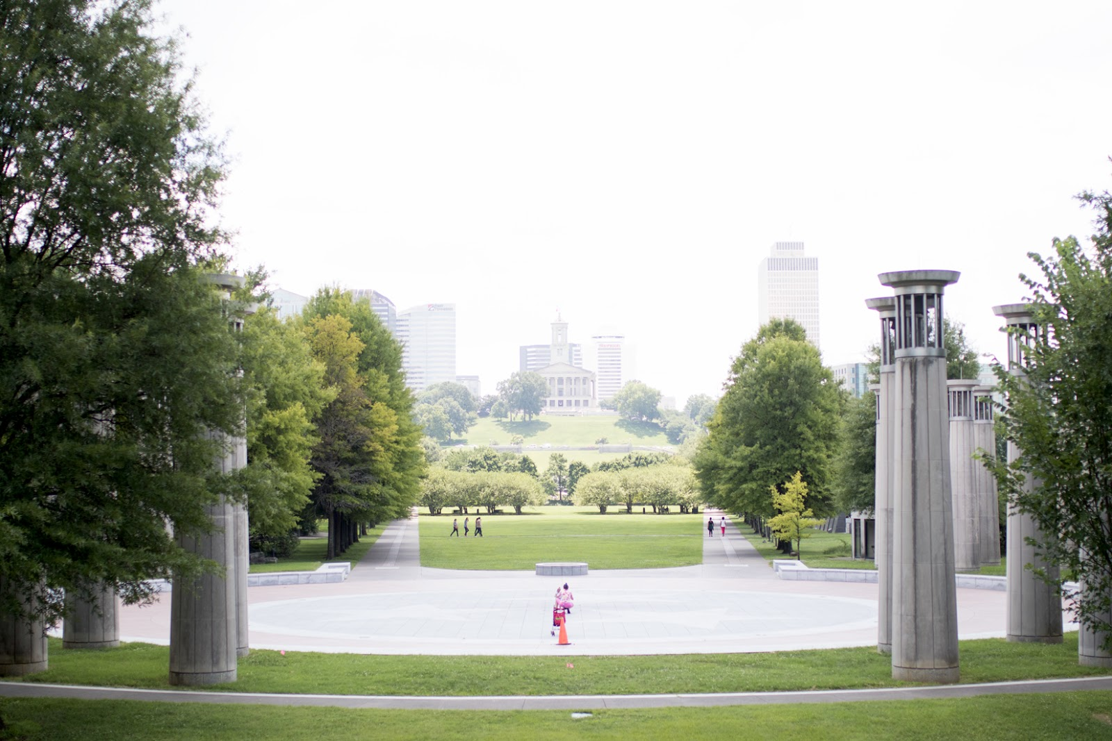 Bicentennial Capitol Mall State Park in Nashville
