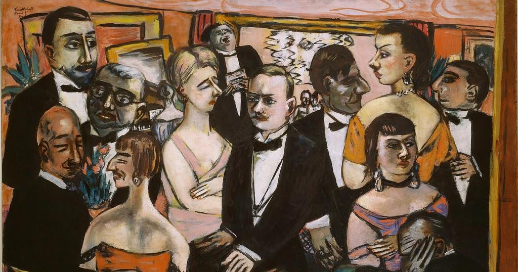 Max Beckmann Weimar Berlin