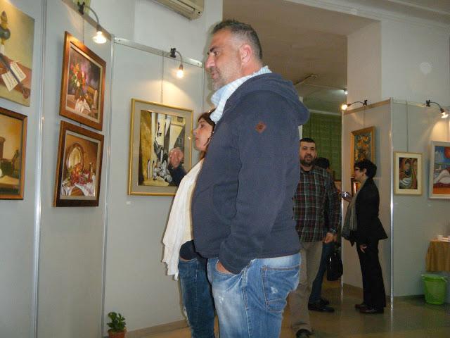 Exposition de peintures à La Galerie Aicha Haddad 13