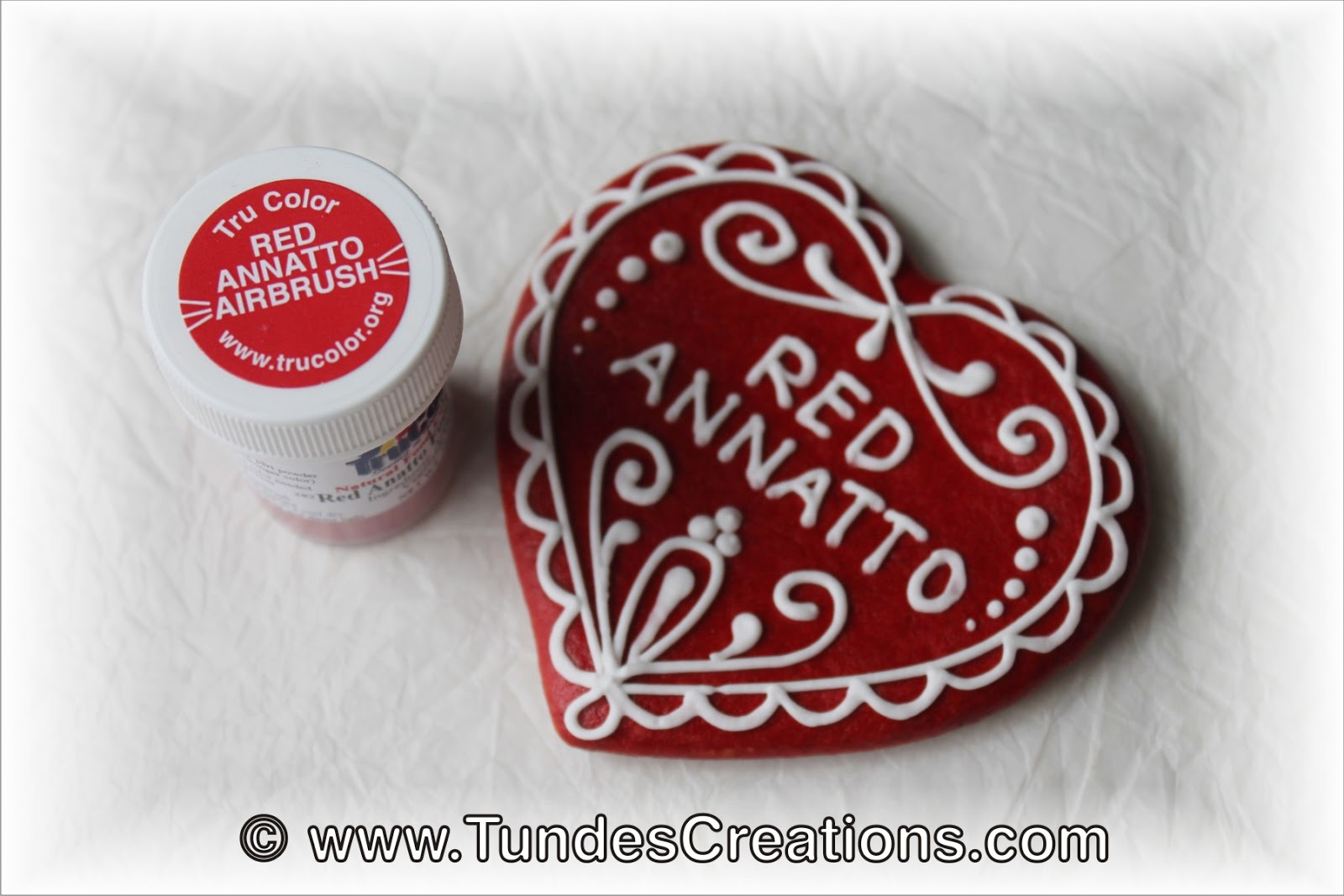 The Gingerbread Artist: Natural red food color: TruColor Red ...