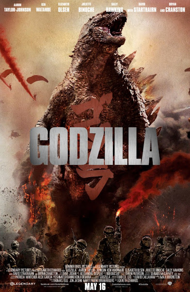 Poster Of Godzilla 2014 720p Hindi BRRip Dual Audio Full Movie Download