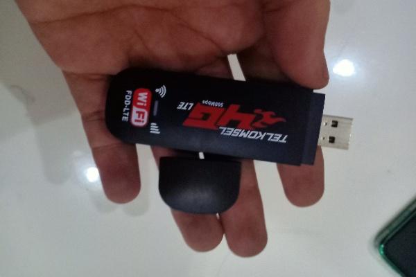 Mencoba Modem USB WIFI dari Telkomsel