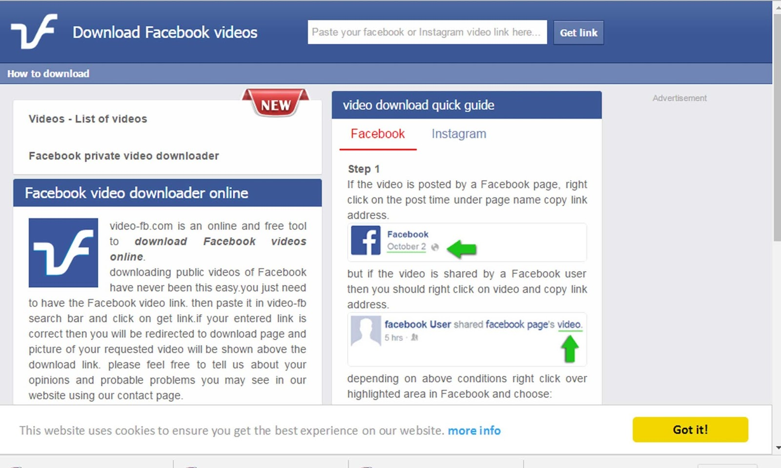 How to Download FB Video without any software - Free Tricks online