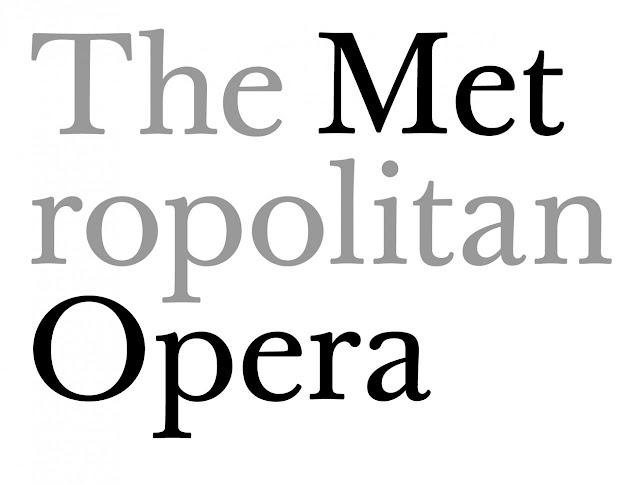 Metropolitan Opera Paula Scher Logo | Axiom Creative Energy