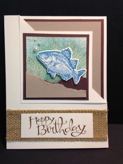8eea752be My Creative Corner!  By the Tide Masculine Card and Corner Flip Fold ...